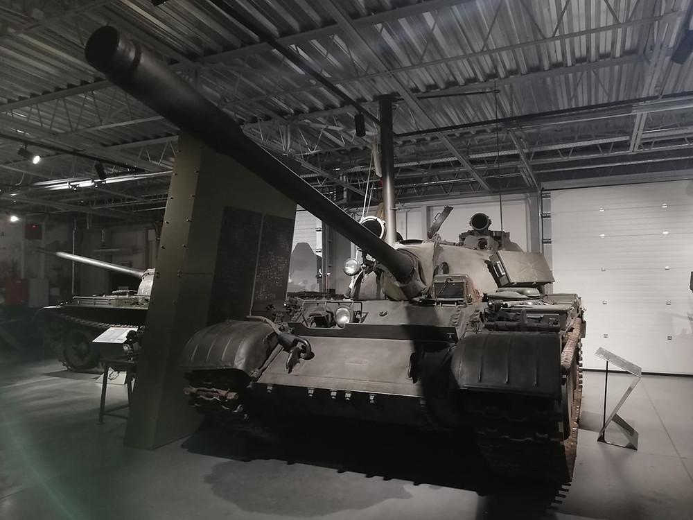 Spielberg, T-55A, Czołg, Poznań, Muzeum,