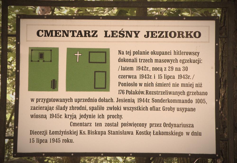 Jeziorko, mord hitlerowski, Niemcy, Okupacja, Łomża, Jedwabne,