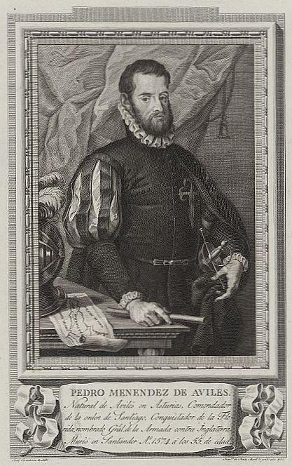 Pedro Menéndez de Avilés.  https://histmag.org