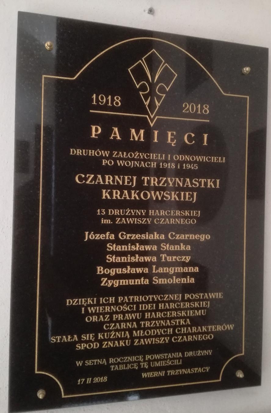 """Kraków. Pamięci """"Czarnej trzynastki"""""""