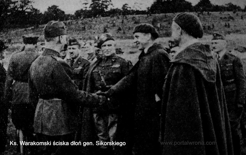 """Ks. Warakomski (""""Wspomnienia wojenne..."""")"""