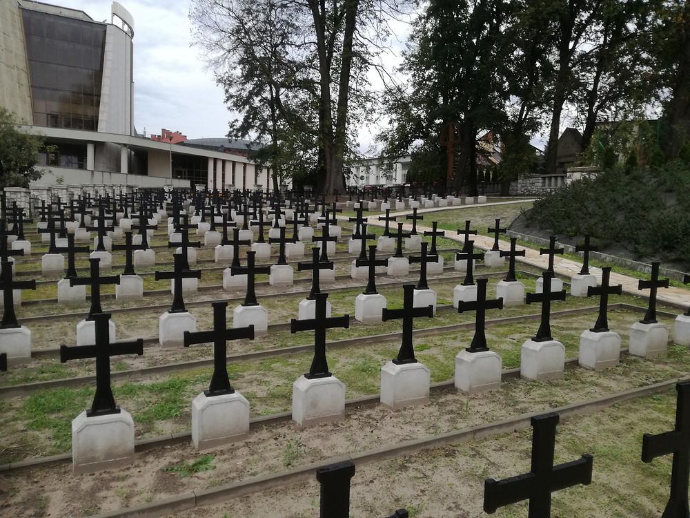 Cmentarz po remoncie (2017r.)