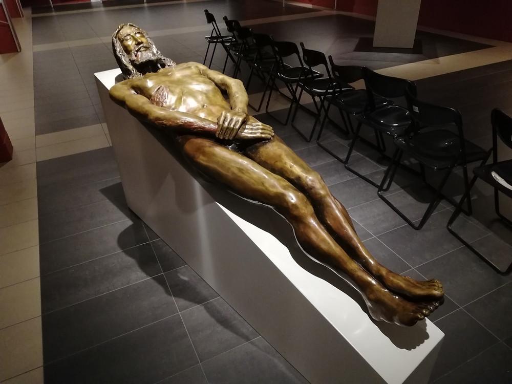 Rzeźba ciała z Całunu