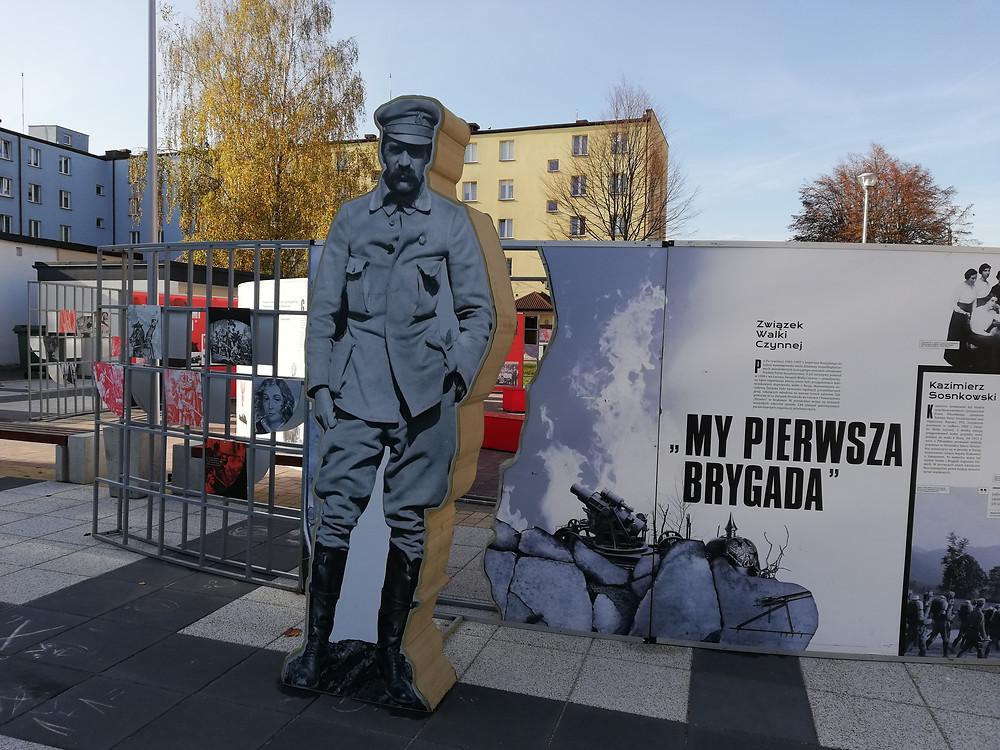 J. Piłsudski - wystawa w Ostrowi Maz.