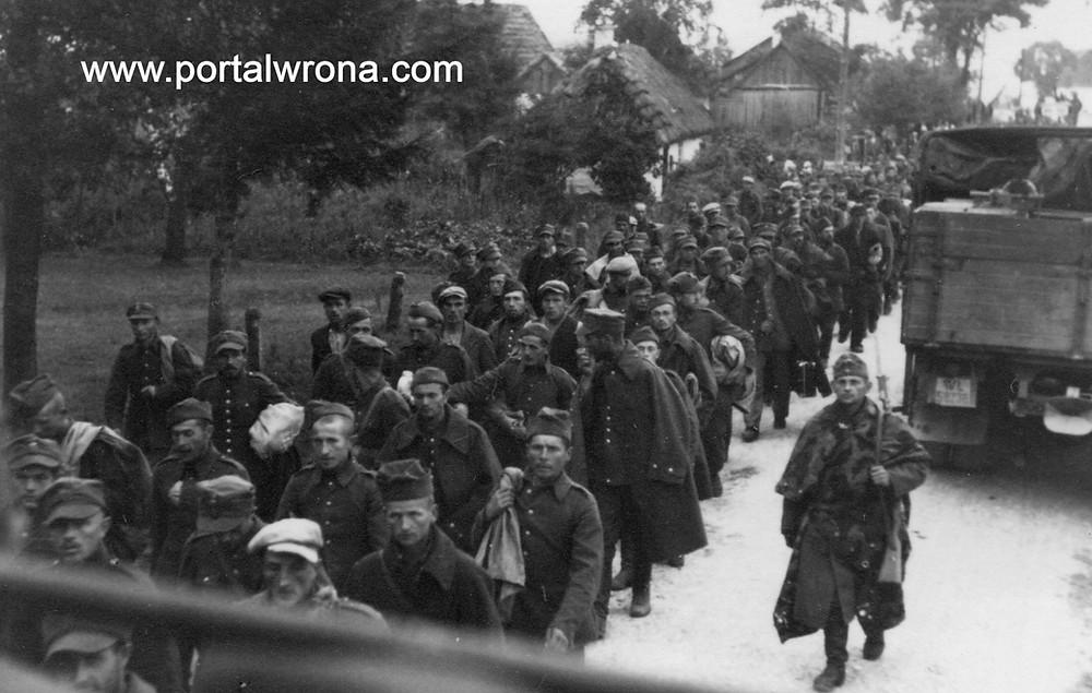 Jeńcy 18 Dywizji Piechoty
