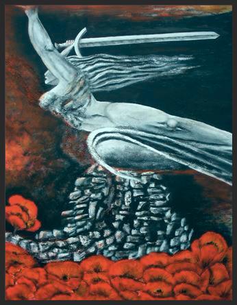 Obraz namalowany przez Danielę Karewicz