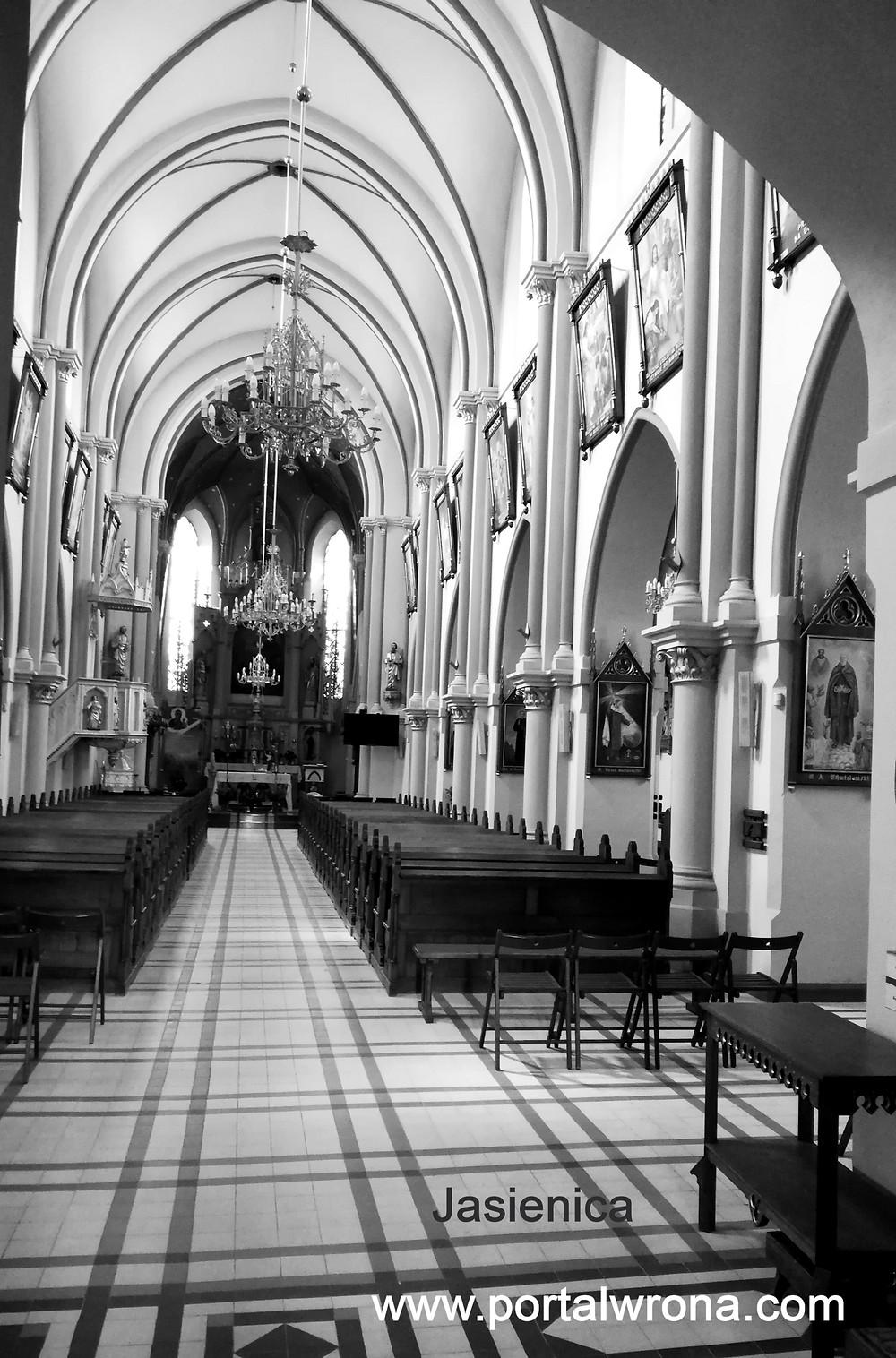 Kościół w Jasienicy obecnie