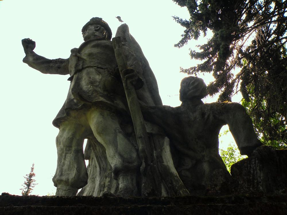Pomnik poświęcony S. Konwie w Łomży