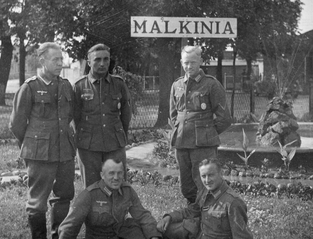 Niemcy w Małkini