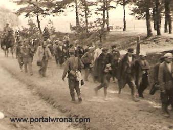 Jeńcy z 18 Dywizji Piechoty