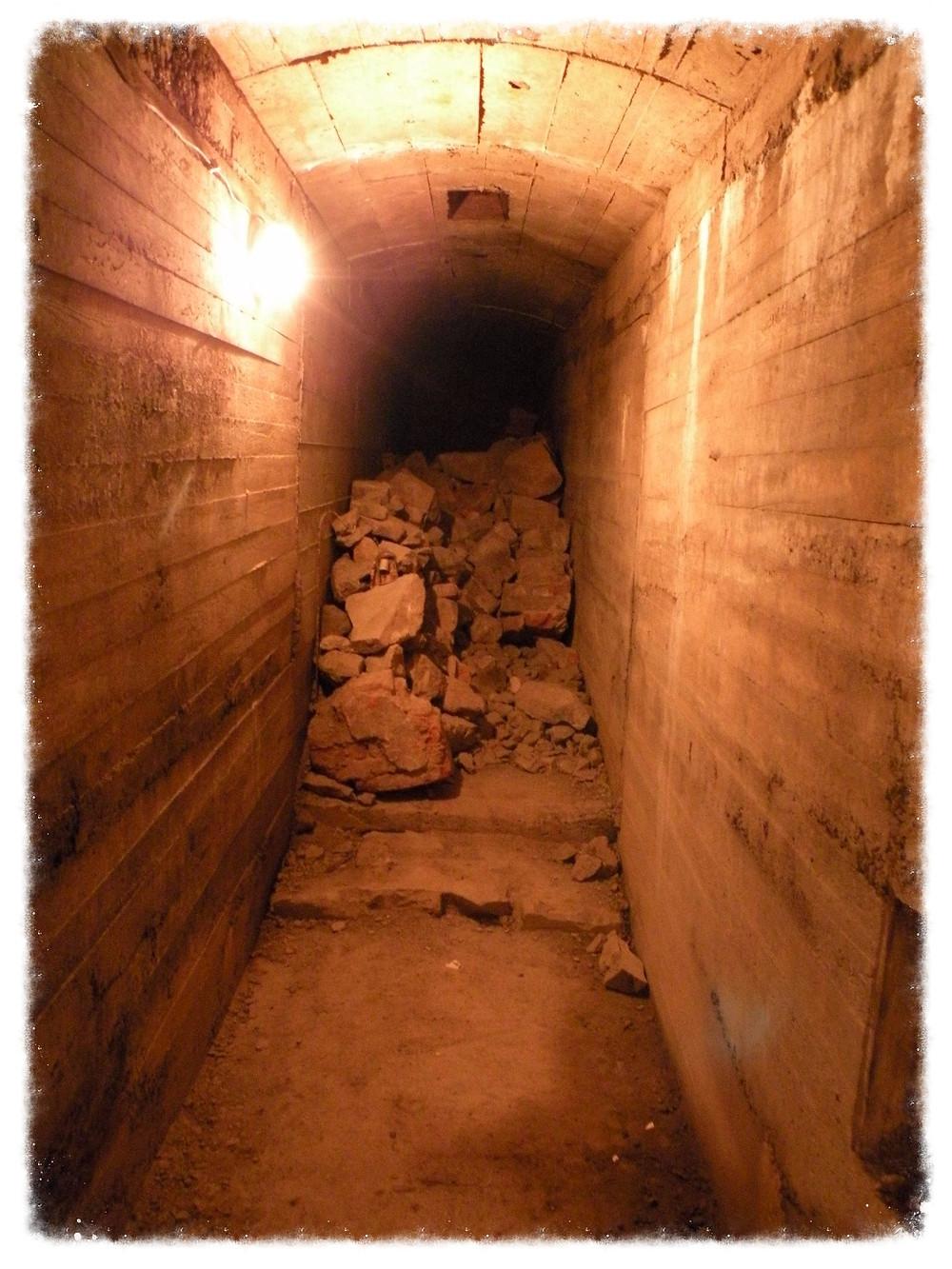 Jeden z podziemnych korytarzy