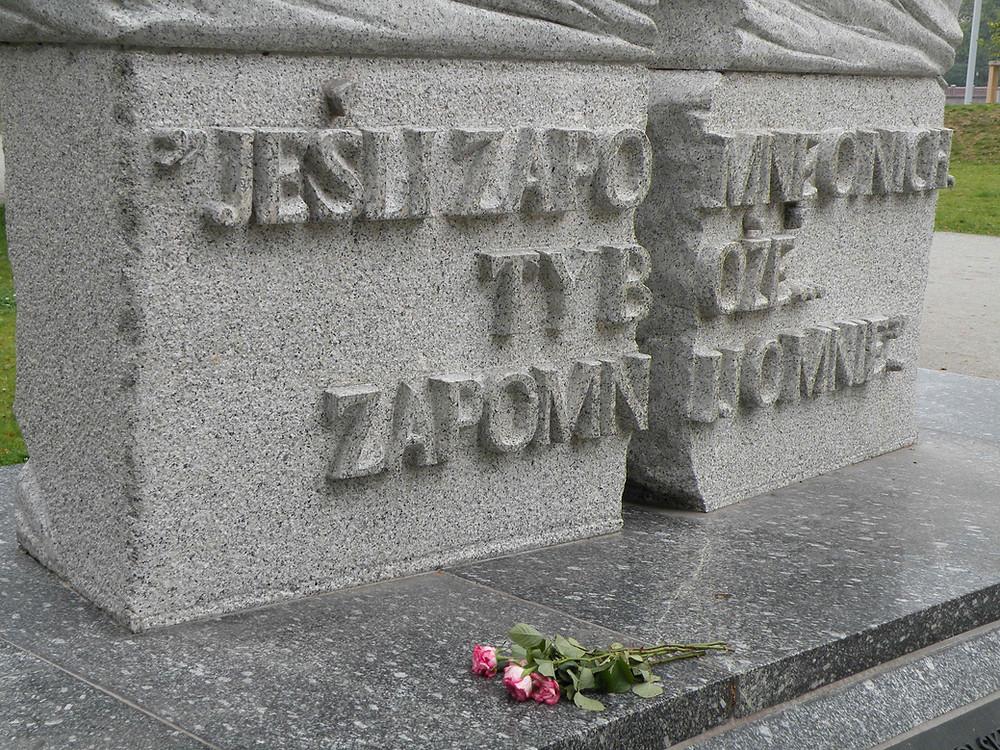 Wrocław - pomnik okolicznościowy