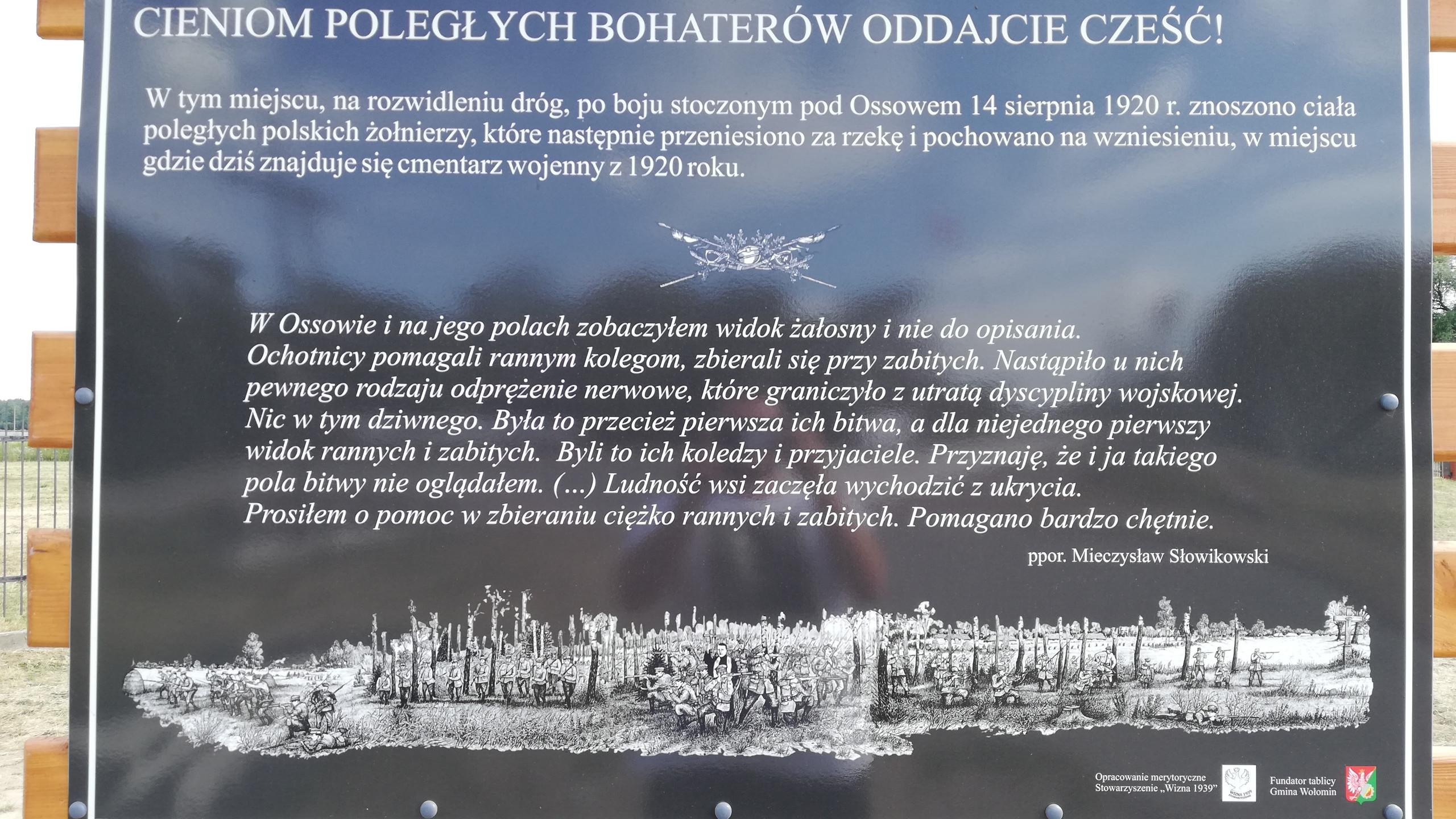 Ossów/sierpień 2020r.