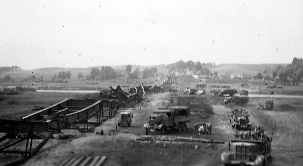 Most w Wiźnie - wrzesień 1939r.