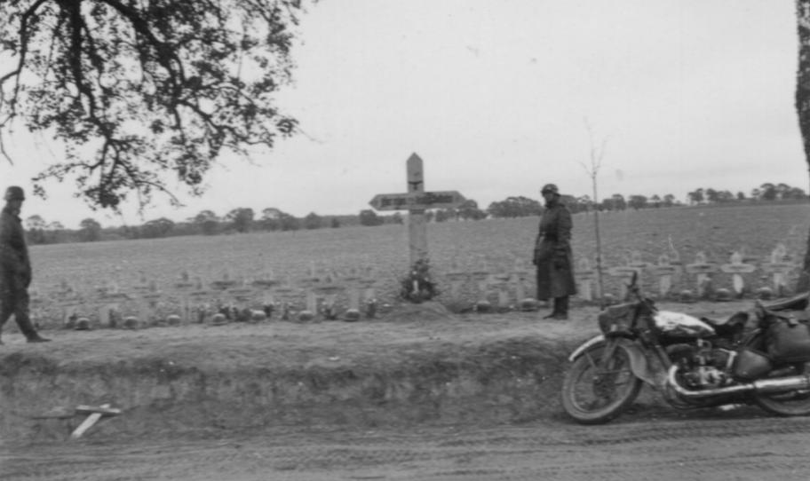 Mogiła 52 żołnierzy niemieckich