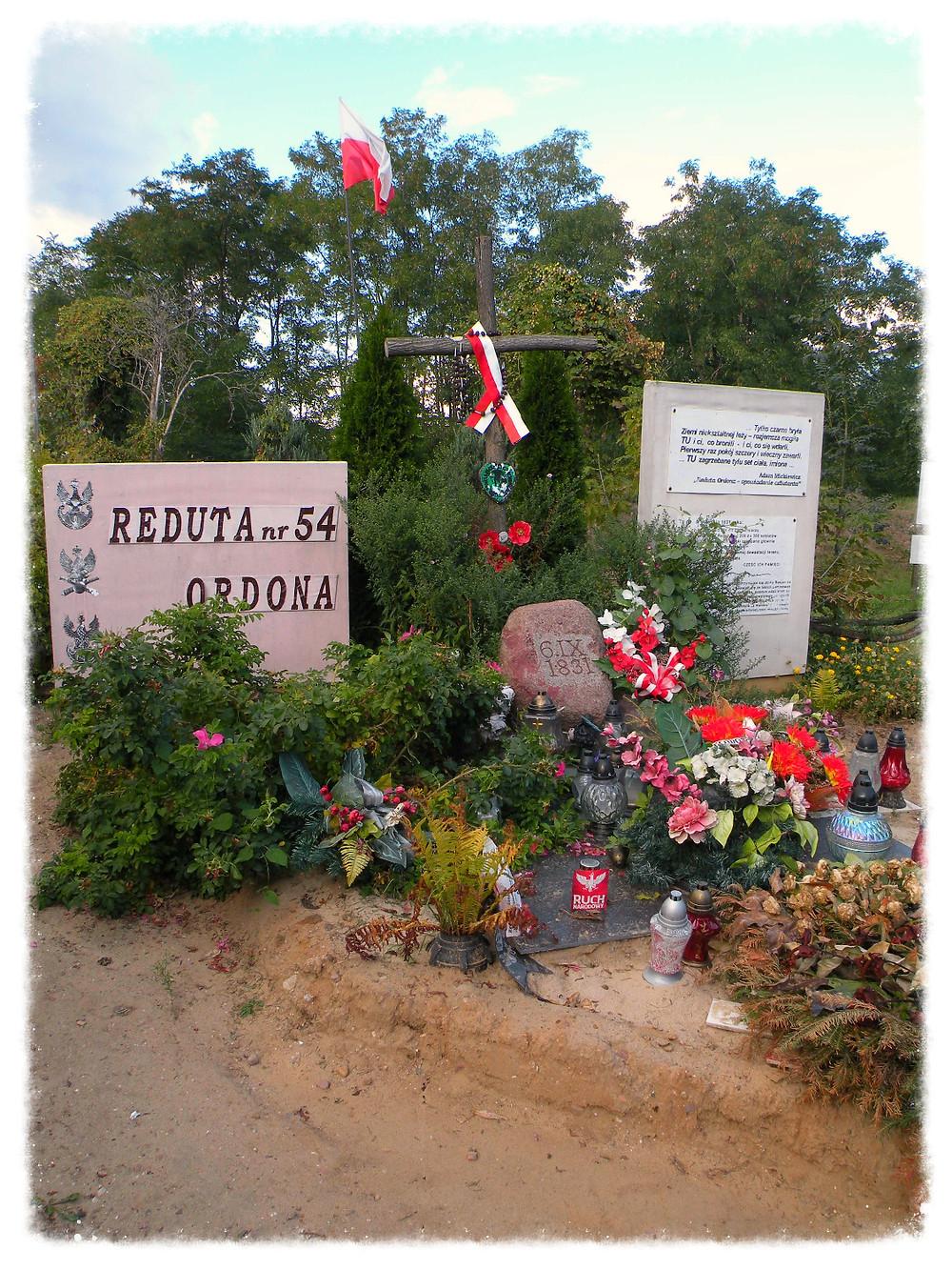 Reduta Ordona - miejsce pamięci i akcji protestacyjnej.
