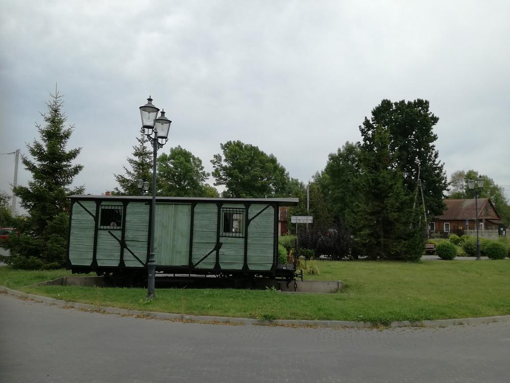 Wagon - pomnik