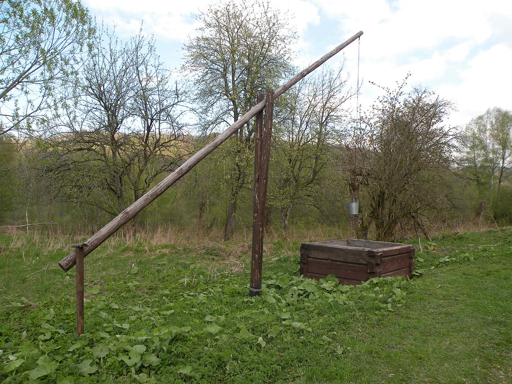 Tu była wieś Zawój