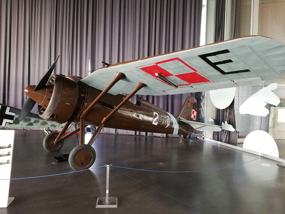 PZL P.11c w krakowskim muzeum