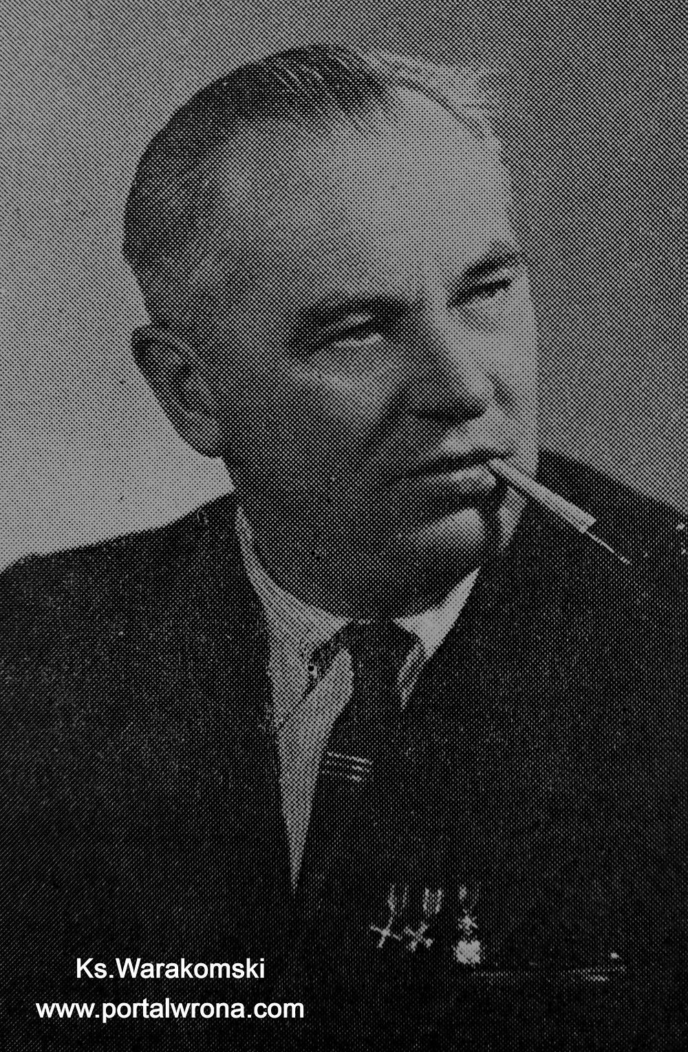 """Ks. płk Antoni Warakomski (""""Udział kapelanów...)"""