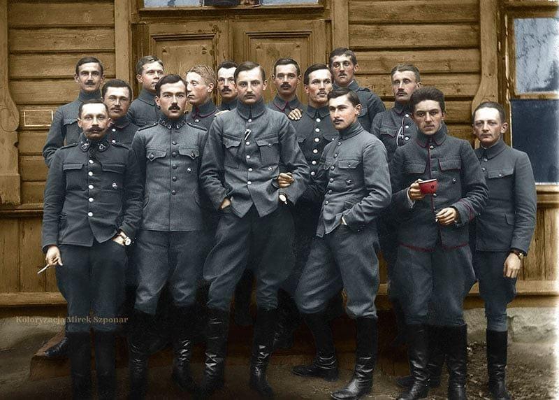 Lis-Kula, Legiony, 1916,