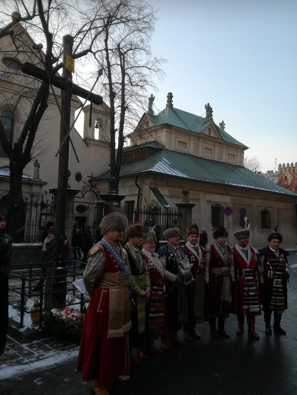 Kraków - przy mogile konfederatów