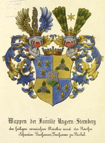 Herb Ungern - Sternbergów