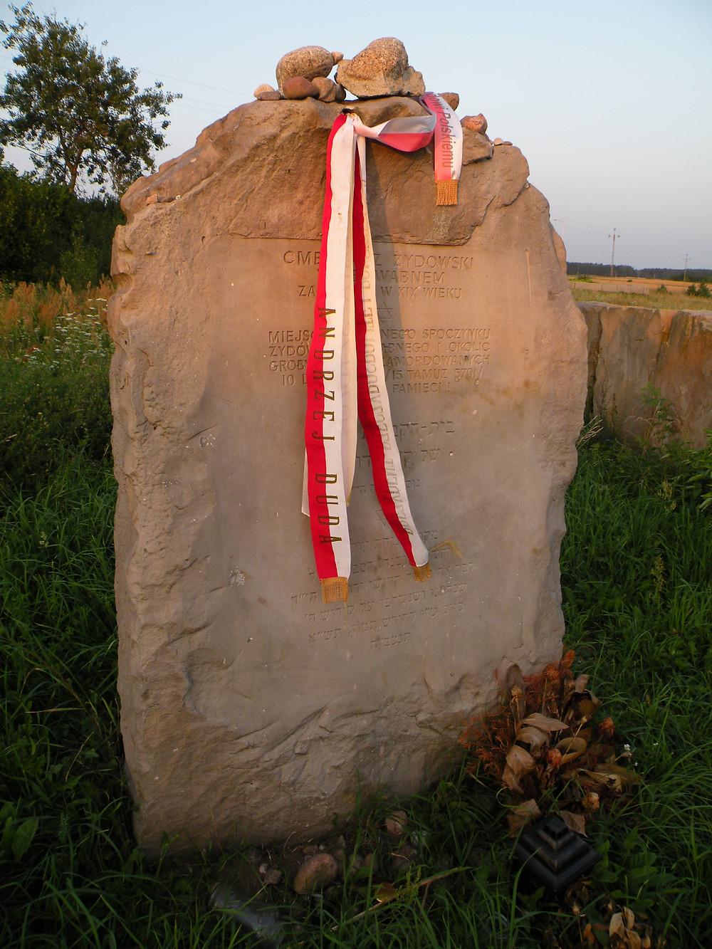 Cmentarz w Jedwabnem