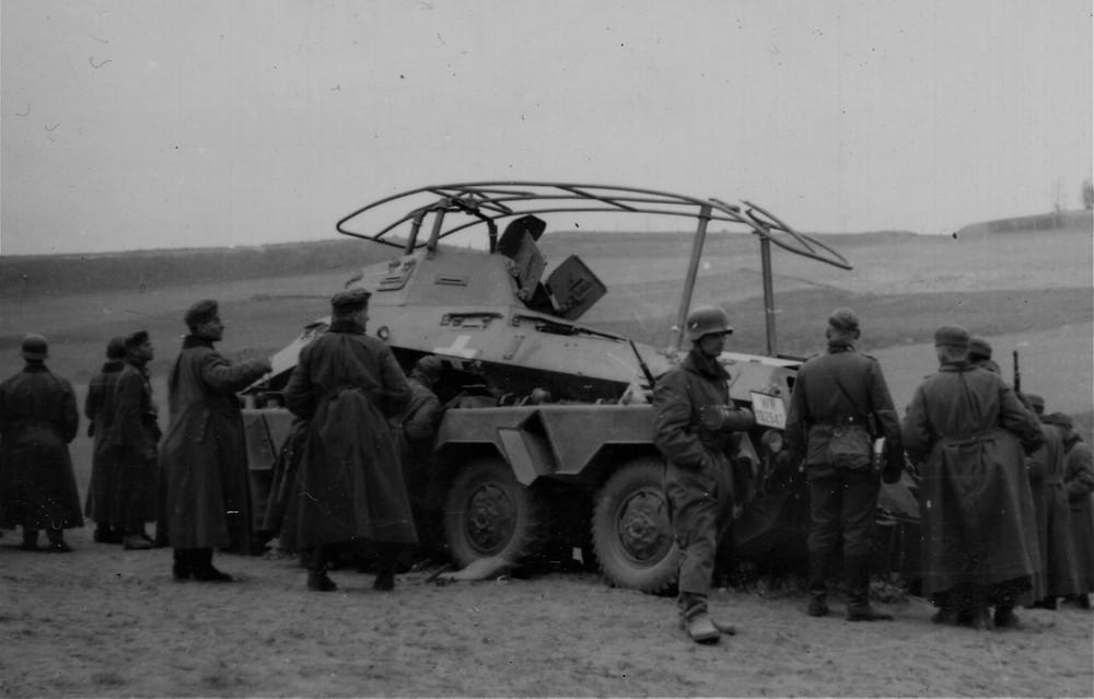 Sdkfz, Zambrów, Łomża, Andrzejewo, Panzer, Zeinte, Division,