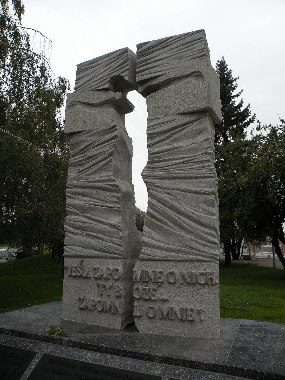 Pomnik poświęcony ofiarom ludobójstwa