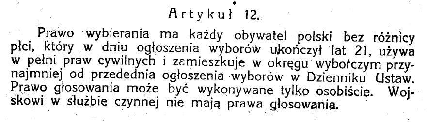 Ustawa z dnia 17 marca 1921r.