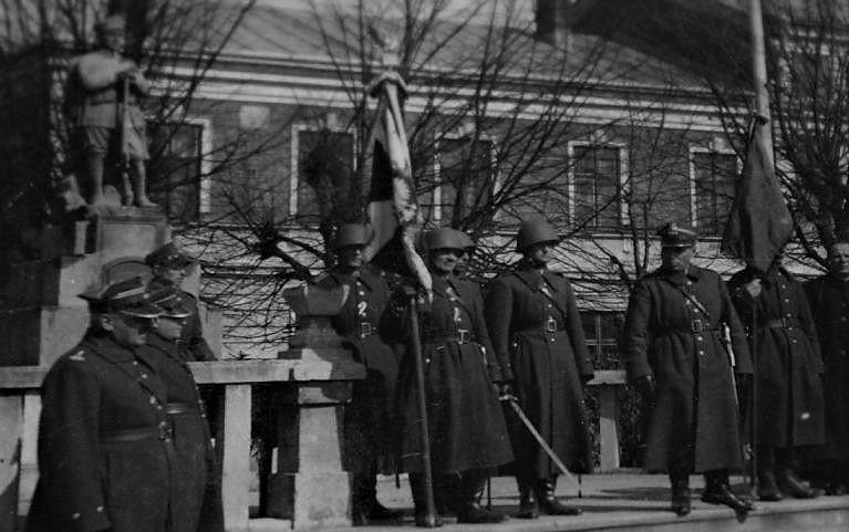 33. Pułk Piechoty. Sztandar.