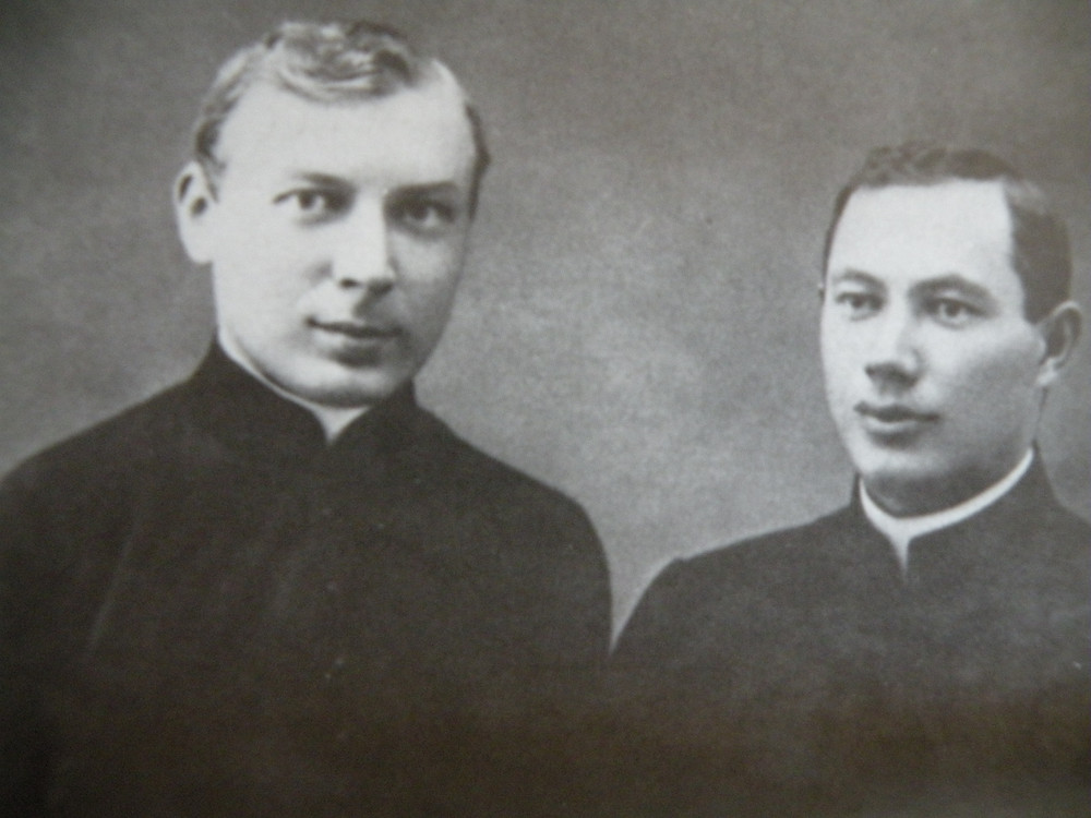 Ks. Wyszyński i ks. Tyszka