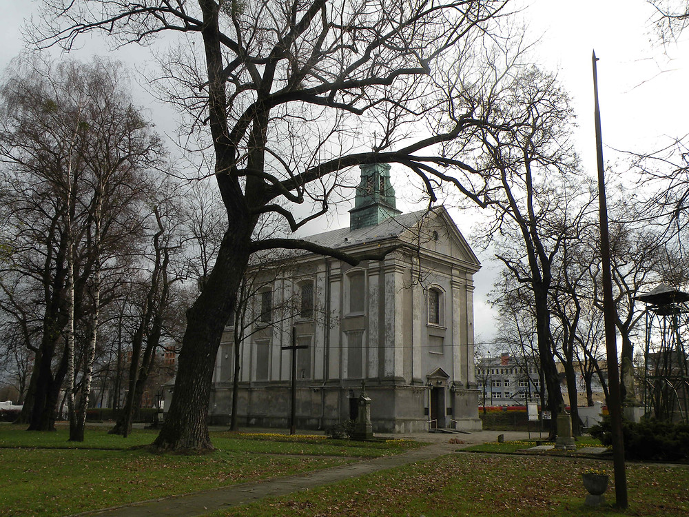 Kościół św. Wawrzyńca.