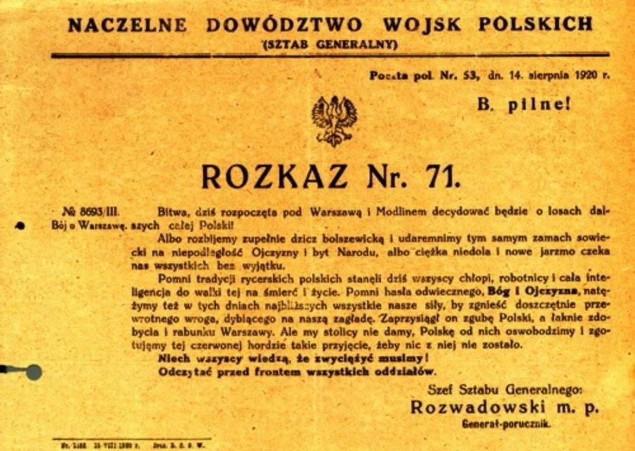 Rozkaz nr. 71