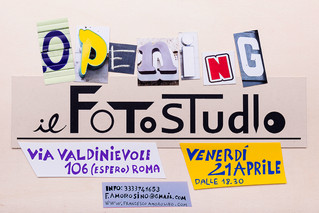 My FotoStudio opens tonight!