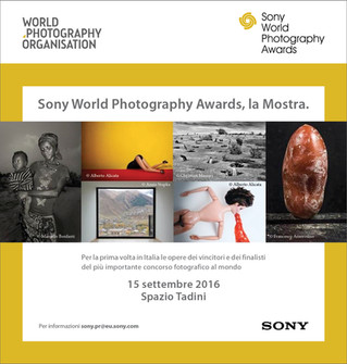 SONY AWARDS EXHIBITION IN MILAN!