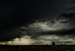 CLOUDS ON ROME