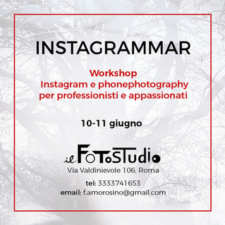 Instagrammar at Il FotoStudio