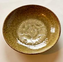 Low Bowl slip decoration with ash glaze