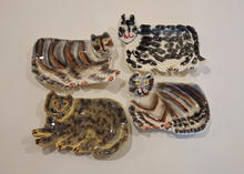 Small Cat Dishes/Plaques