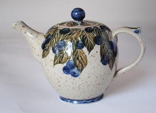 Blueberry Teapot