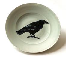 Large Crow Platter
