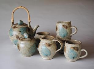 Pear Tea Set each piece priced individually