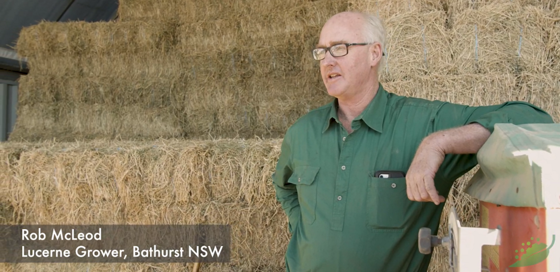 Lucerne Grower - Testimonial with subtitles