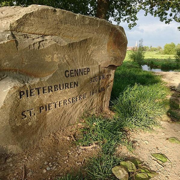 Pieterpad, Pieter pad, Overnachten, overnachten aan pieterpad, overnachten Limburg, Pieterburen, St. Pietersberg, Gennep