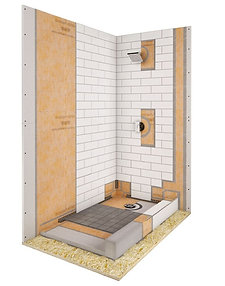 "32""x60"" Offcenter Kerdi Kit"