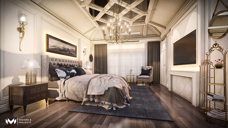 Grandeur Of Classic Design - Bedroom