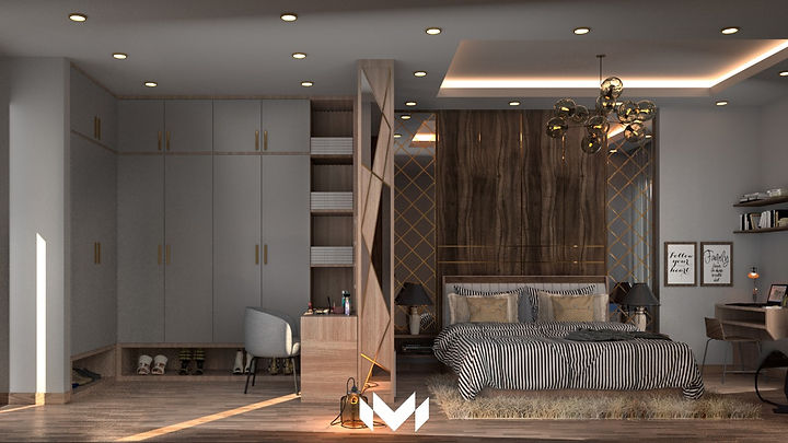 Bedroom by M - Designs & Projects