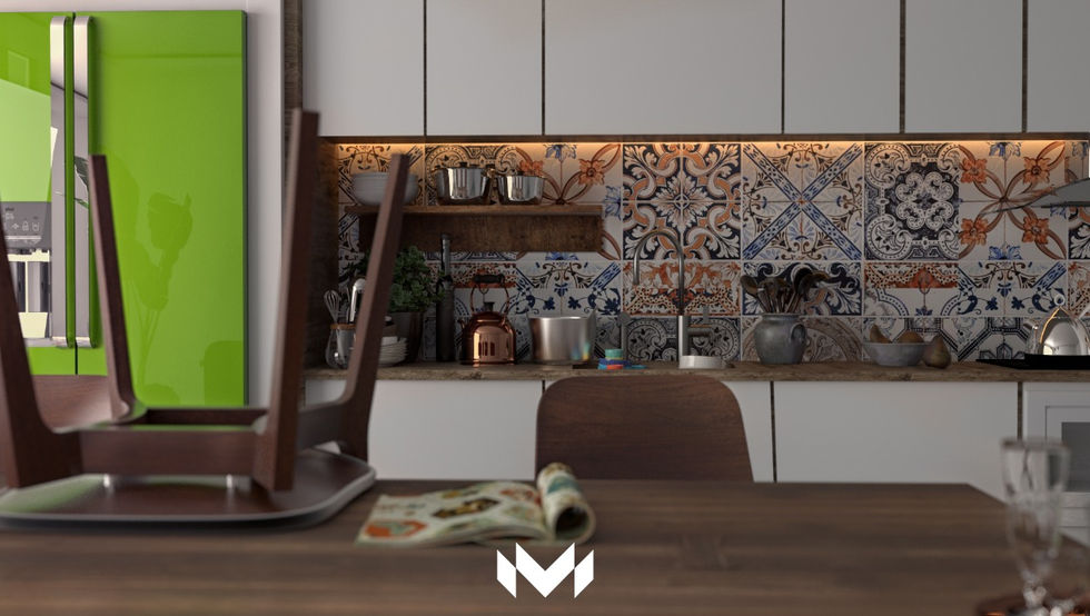Modern Kitchen by M - Designs & Projects
